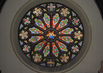 East Rose Window Restoration – Church of Our Lady Immaculate