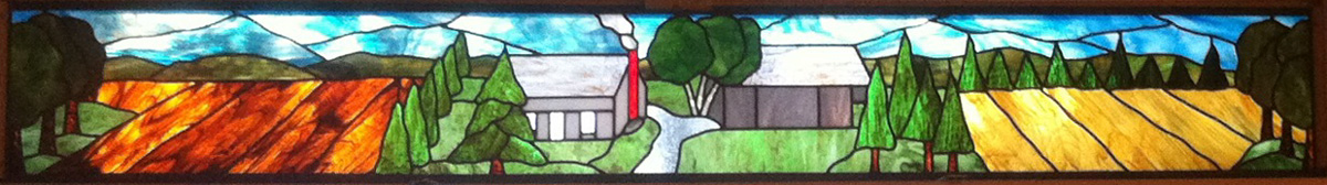 A Family Farm Immortalized in Stained Glass