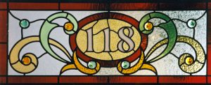 victorian transom number