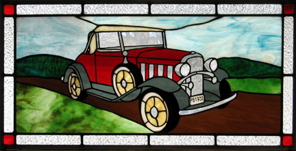 An interesting project for an antique car fan.