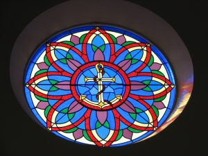 Anchor Rose Window St. Pauls Point Edward
