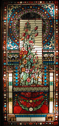 One of The Finest Examples of Elaborate Victorian Stained Glass