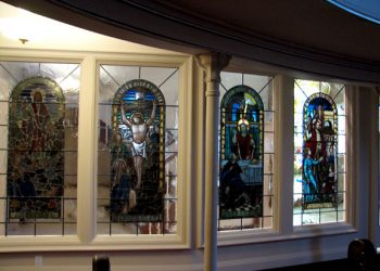 Stained Glass Window Relocation