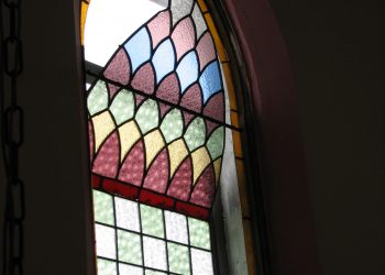 Restoration of Badly Deteriorated Stained Glass Window in Kinlough